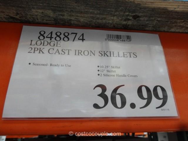 Lodge  Cast Iron Skillet Set Costco 1