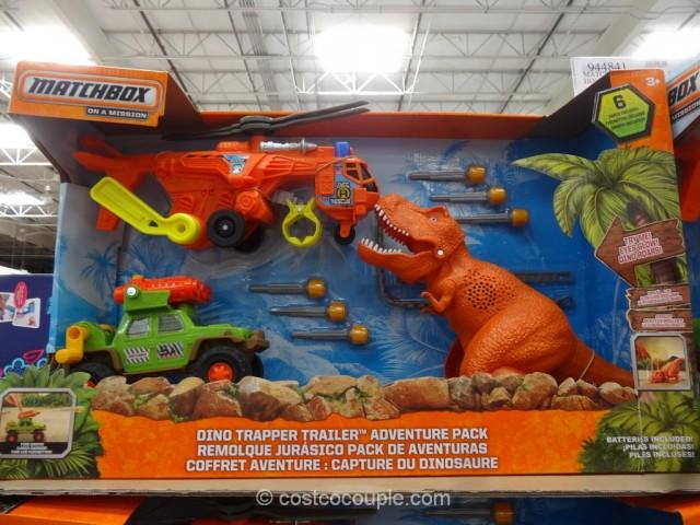 Matchbox Dino Trapper Trailer Adventure Pack Costco 2