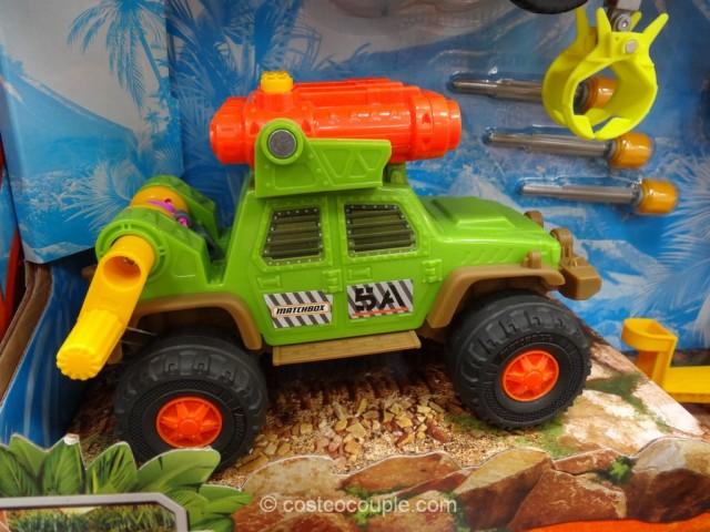 Matchbox Dino Trapper Trailer Adventure Pack Costco 4
