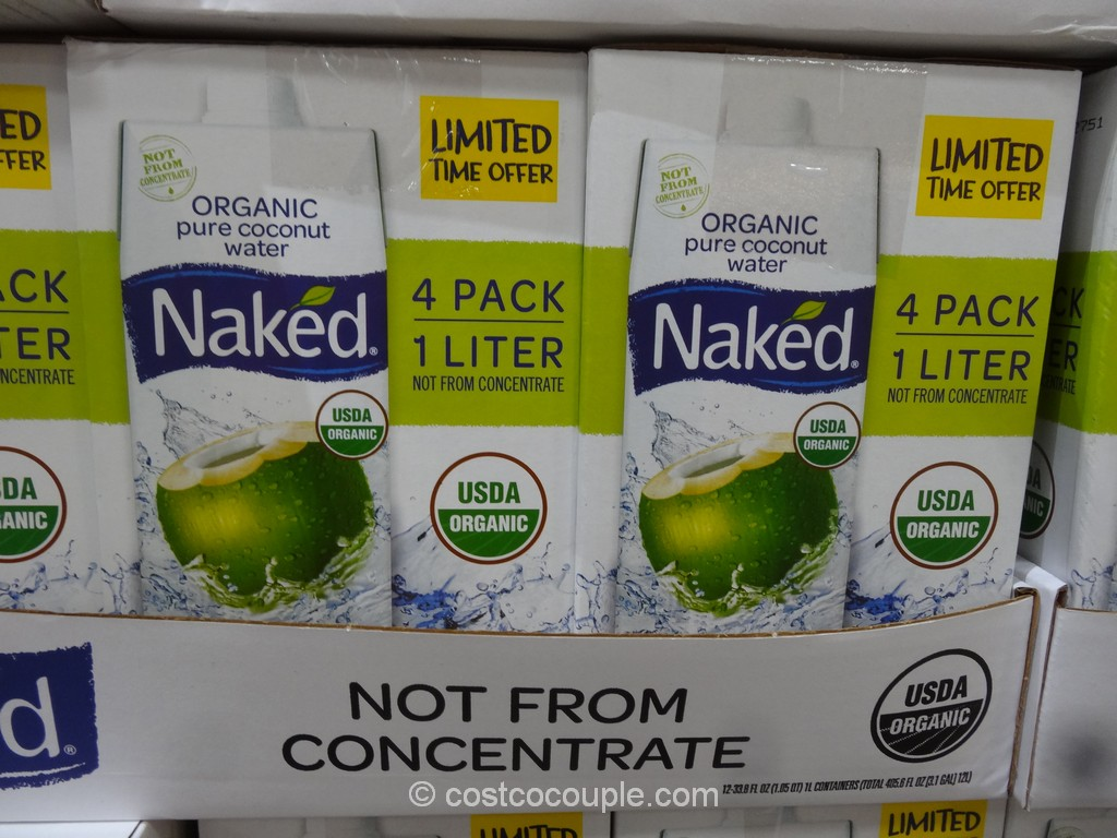Naked Organic Coconut Water Costco 2