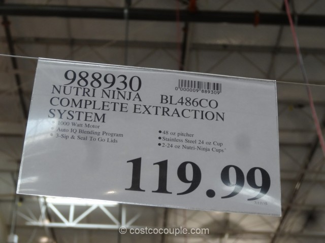 Nutri Ninja Complete Extraction System Costco 1