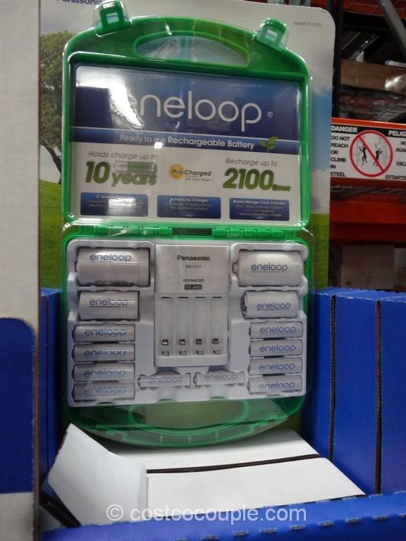 Panasonic Eneloop Rechargeable Batteries Costco 2