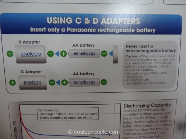 Panasonic Eneloop Rechargeable Batteries Costco 5