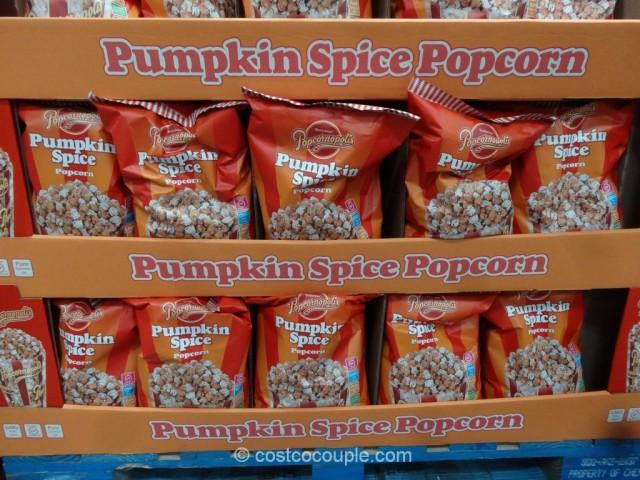 Popcornopolis Pumpkin Spice Popcorn Costco 2