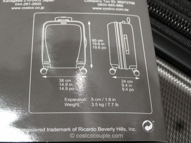Ricardo 20-Inch Superlight Carry-On Spinner Costco 5
