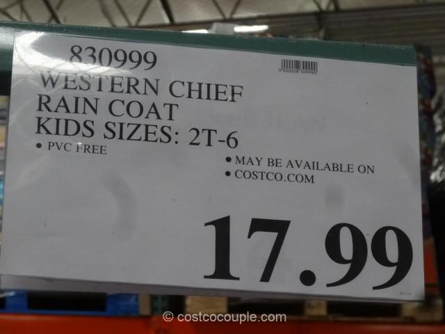 Western Chief Kids Rain Coat Costco 1