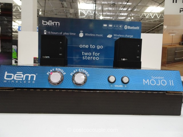 BEM Wireless Mojo II Bluetooth Speakers Costco 2