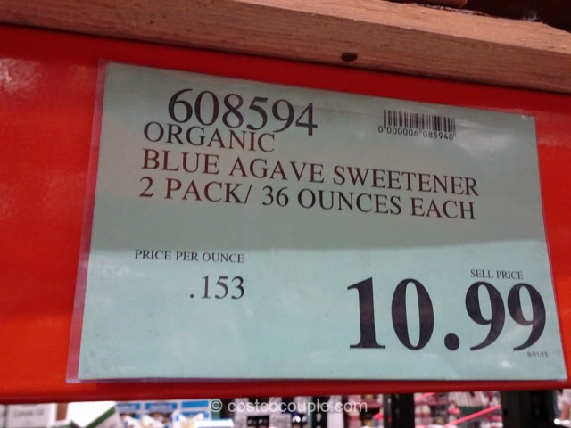 Blue Agave Organic Sweetener Costco 1