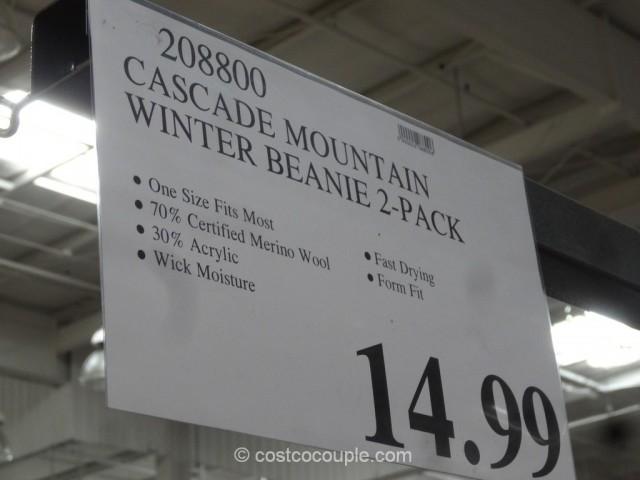 Cascade Mountain Merino Wool Beanie Costco 1