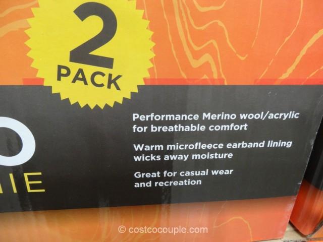 Cascade Mountain Merino Wool Beanie Costco 3