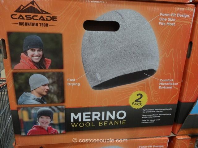 Cascade Mountain Merino Wool Beanie Costco 4
