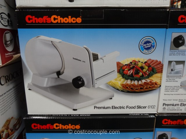 Chefs Choice Electric Food Slicer Costco 2