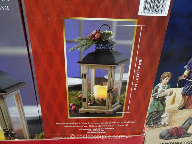 Christmas Decorative Lantern Costco 3