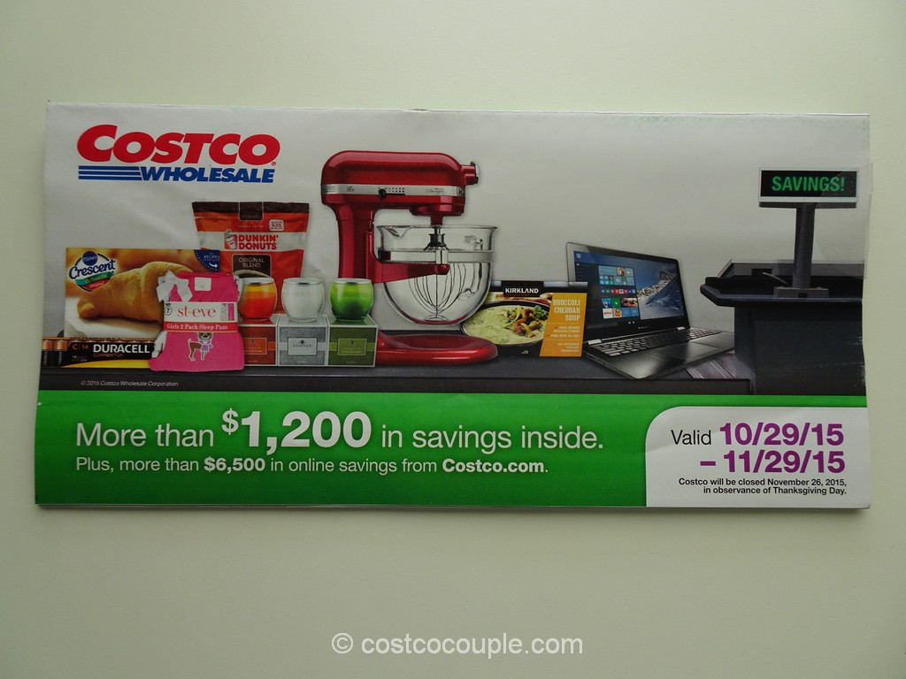 Costco Nov 2015 Coupon Book 1