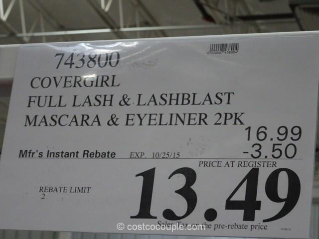 CoverGirl Full Lash and Lashblast Mascara Set Costco 1
