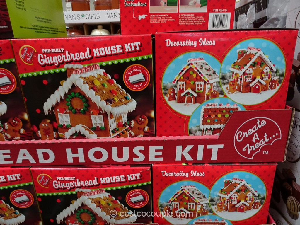 Create A Treat Gingerbread House Kit Costco 2