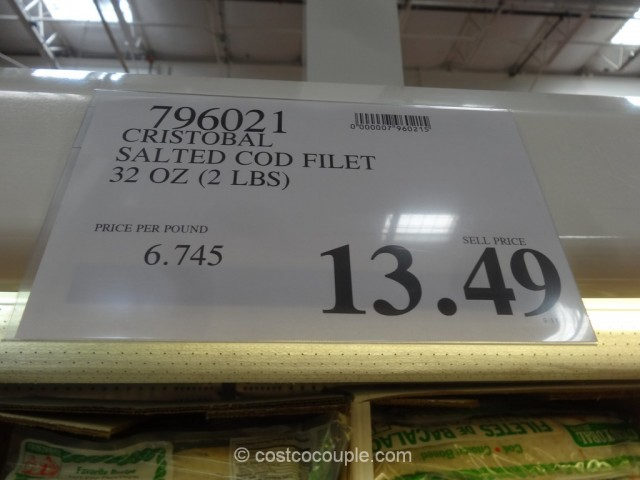 Cristobal Bacalao Salted Cod Fillets Costco 1