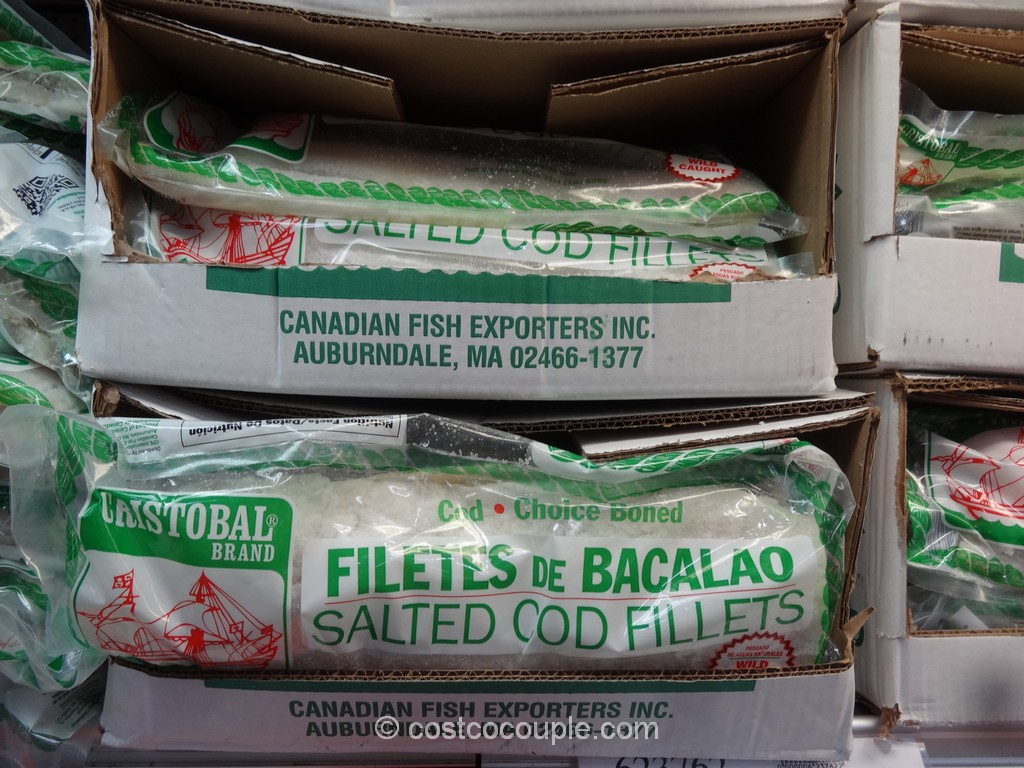 Cristobal Bacalao Salted Cod Fillets Costco 2
