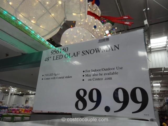 Disney Frozen 48-Inch Olaf Snowman Costco 2