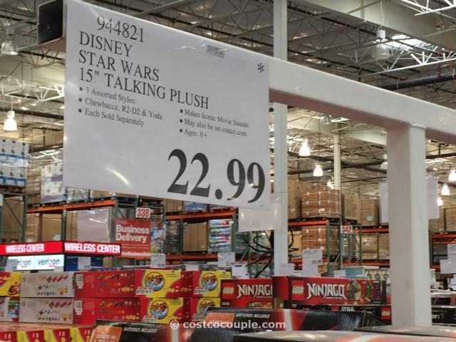 Disney Star Wars Talking Plush Toy Costco 1