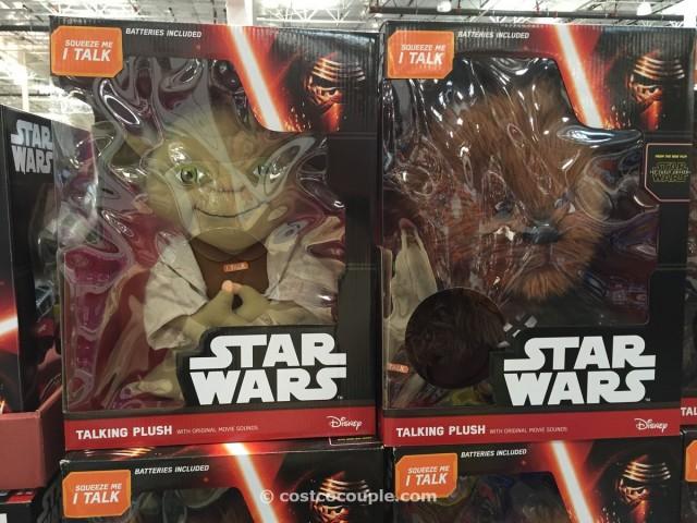 Disney Star Wars Talking Plush Toy Costco 2