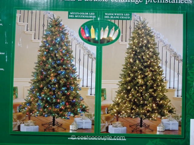 EZ Connect 75Ft Pre-lit LED Christmas Tree Costco 5