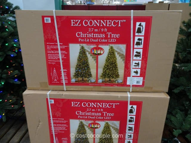 EZ Connect 9Ft Pre-lit LED Christmas Tree