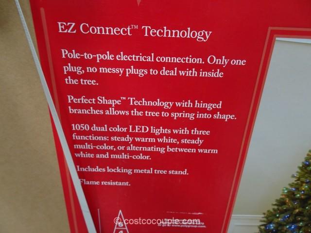 EZ Connect 9Ft Pre-lit LED Christmas Tree Costco 6
