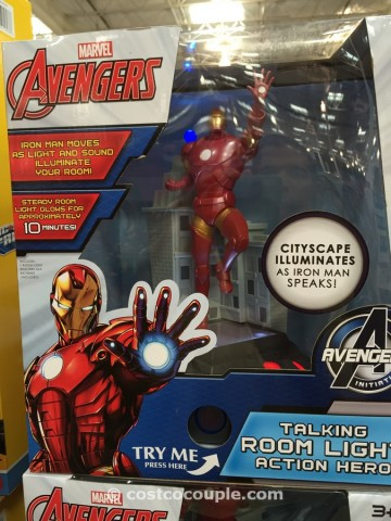 Frozen Avengers Light and Sound Room Glow Costco 1