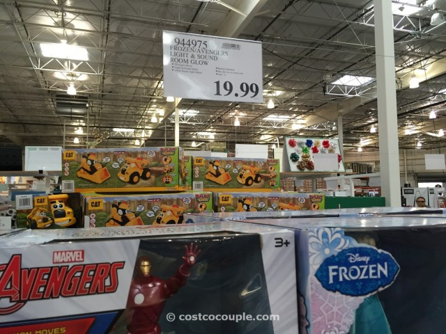 Frozen Avengers Light and Sound Room Glow Costco 2