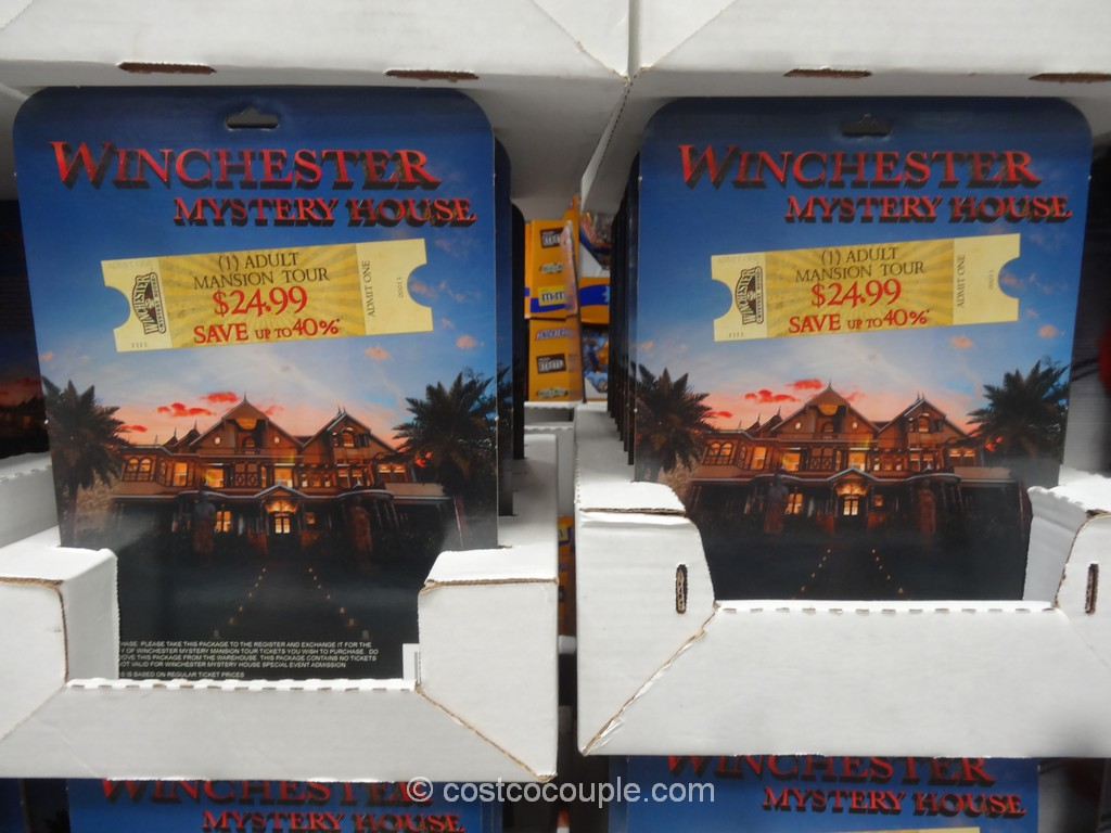 Gift Card Winchester Mystery House Costco 2
