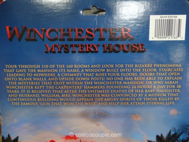 Gift Card Winchester Mystery House Costco 4