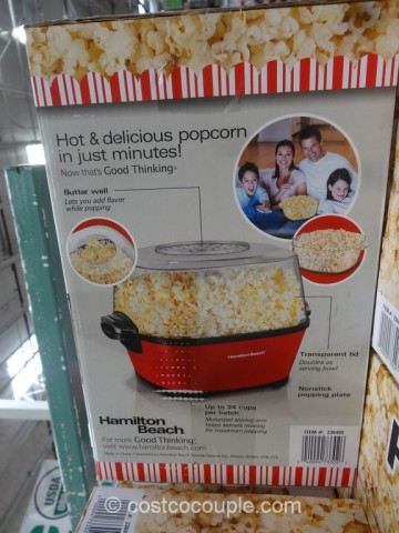 Hamilton Beach Hot Oil Popcorn Maker Costco 4