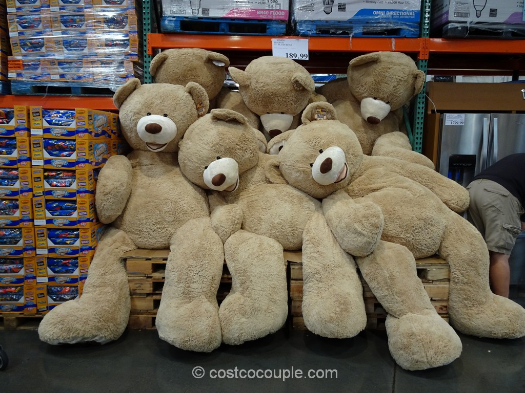 Hugfun 93-Inch Plush Bear Costco 4