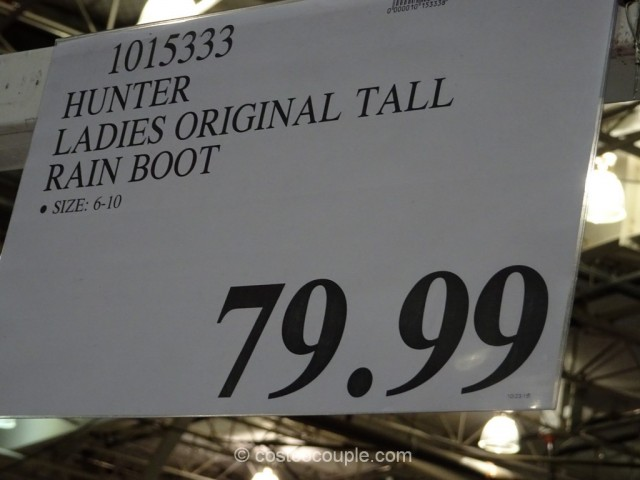 Hunter Ladies Original Rain Boot Costco 1