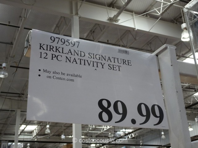 Kirkland Signature 12-Piece Nativity Set Costco 1