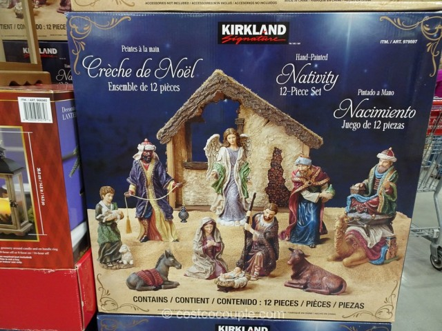 Kirkland Signature 12-Piece Nativity Set Costco 3