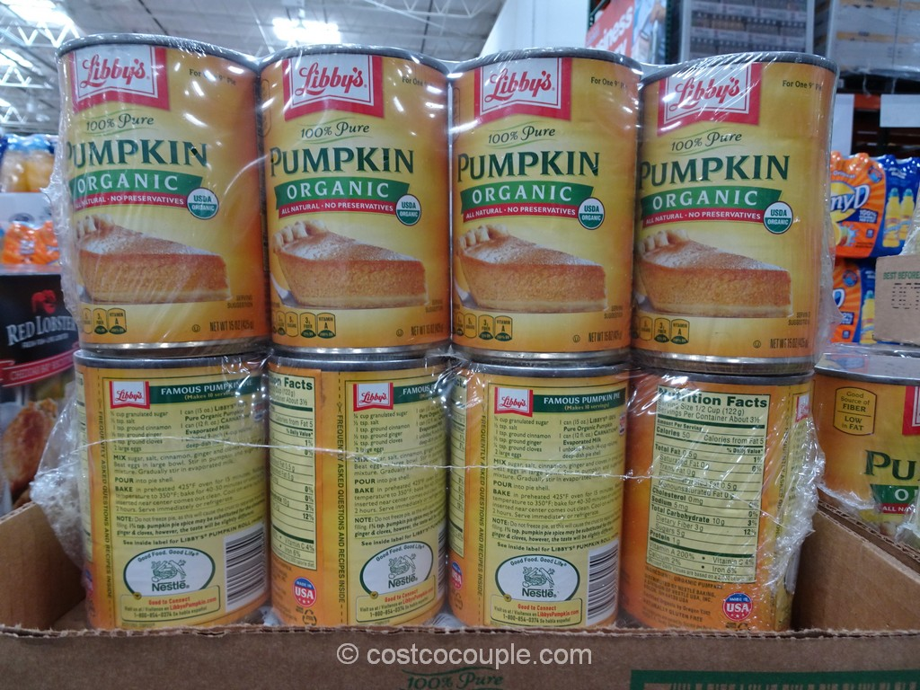 Libbys Organic Canned Pumpkin Costco 2