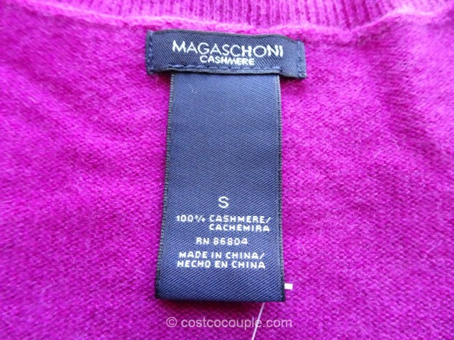 Magaschoni Ladies Cashmere Sweater Costco 2