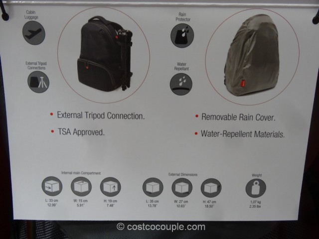 Manfrotto Adventure 1 Camera Backpack