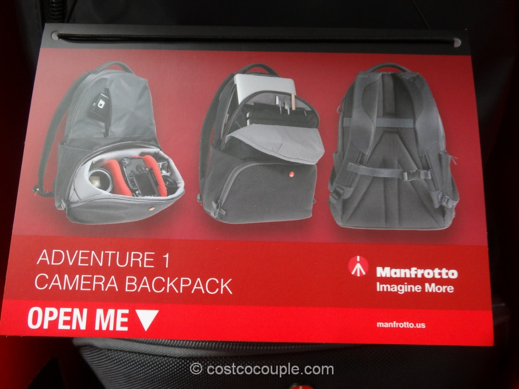 Manfrotto Advencture 1 Camera Backpack Costco 6