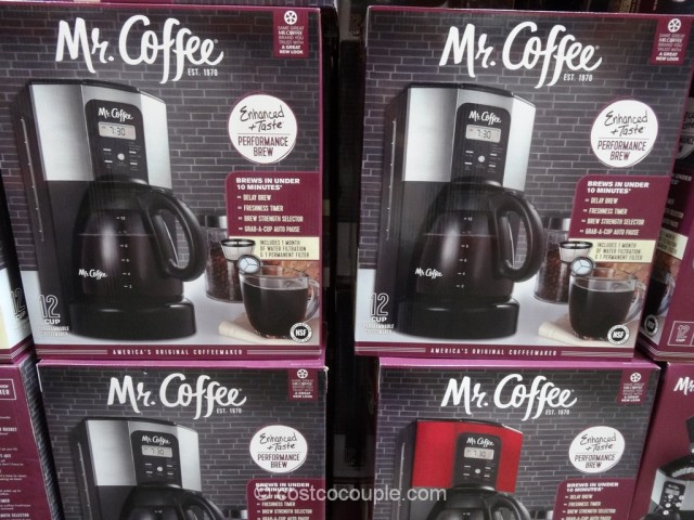 Mr Coffee 12-Cup Programmable Coffee Maker Costco 2