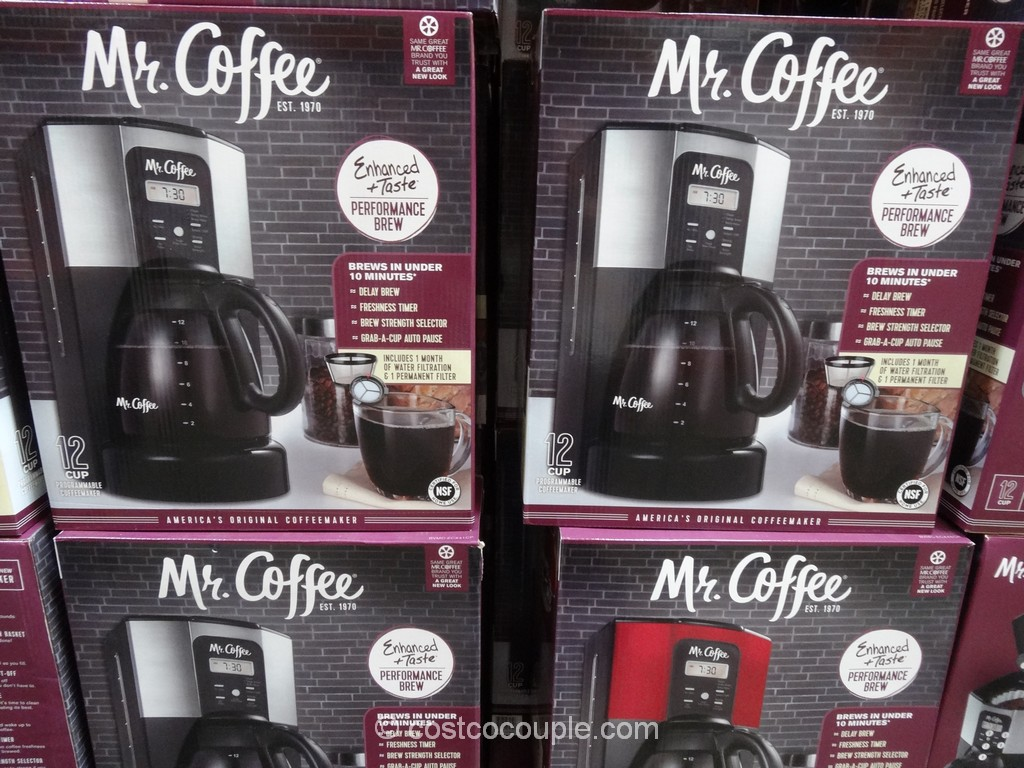 Mr Coffee 12-Cup Programmable Coffee Maker Costco 2