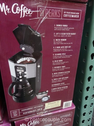 Mr Coffee 12-Cup Programmable Coffee Maker Costco 4