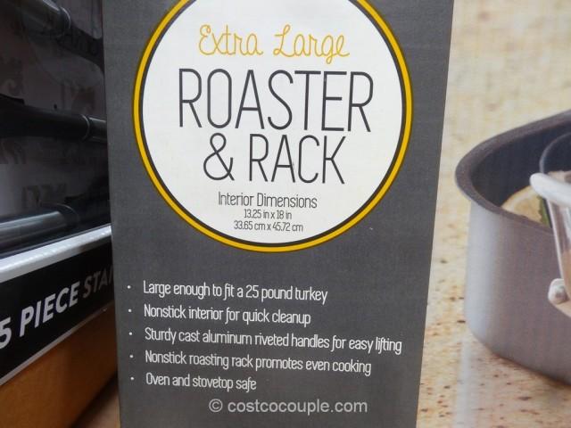 Nordic Ware Roasting Pan and Rack Costco 4