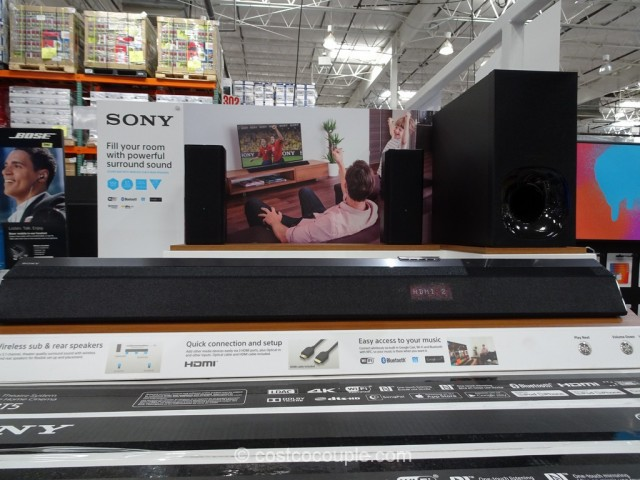 Sony Soundbar Home Theater System HT-RT5 Costco 3