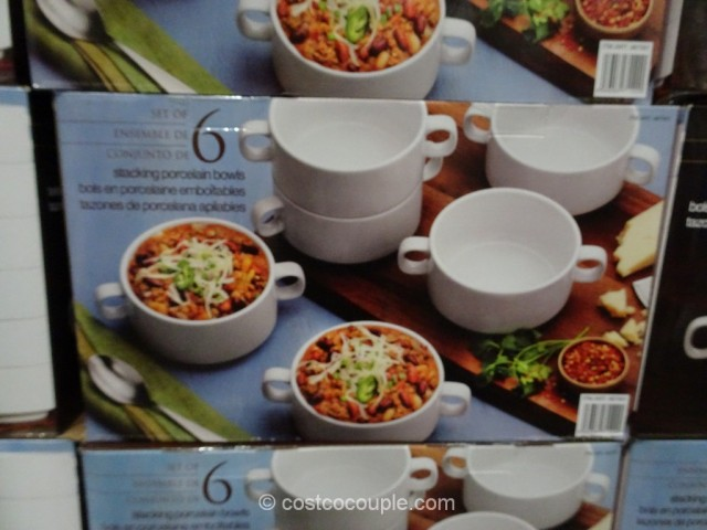 Stacking Porcelain Bowl Set Costco 2