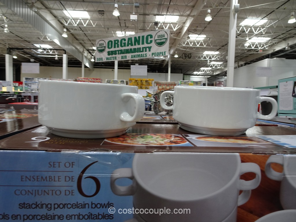 Stacking Porcelain Bowl Set Costco 3