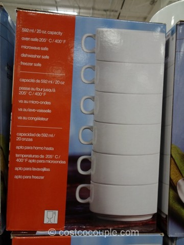 Stacking Porcelain Bowl Set Costco 4