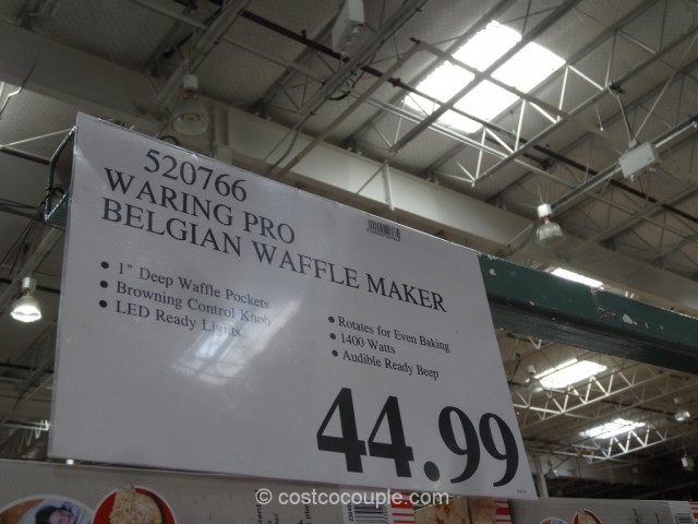 Waring Pro Belgian Waffle Maker Costco 1